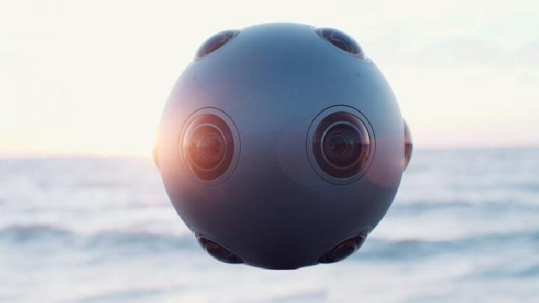 Nokia OZO features multiple cameras and 8 microphones for a 360 degree experience.