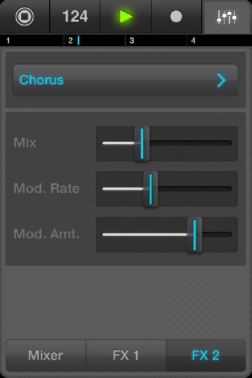 And here's one of its two effects units