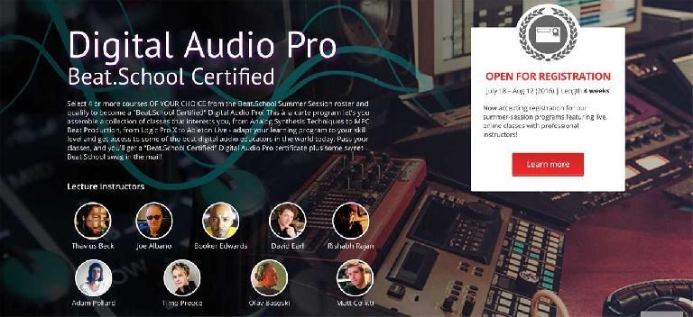 Digital Audio Production Beat.School