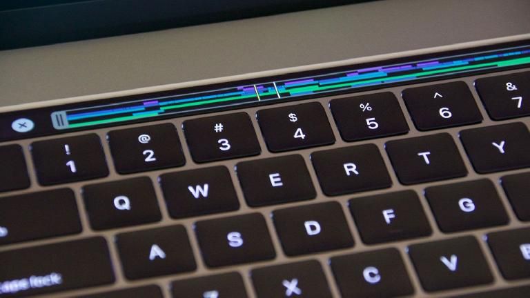 FCP X driving the Touch Bar on the new MacBook Pro