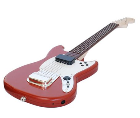 The Wireless Fender Mustang Pro Guitar For PS3