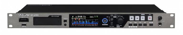 Tascam DA-6400 single rack live recorder