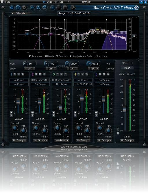 Blue Cat Audio MB-7 Mixer 2.4