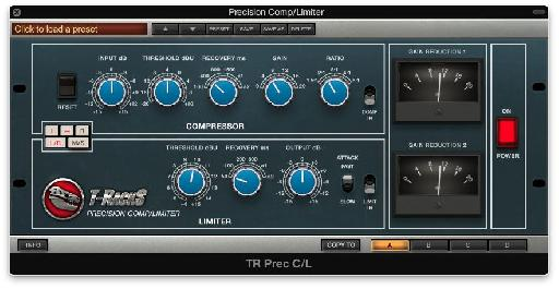 The Precision Compressor/Limiter