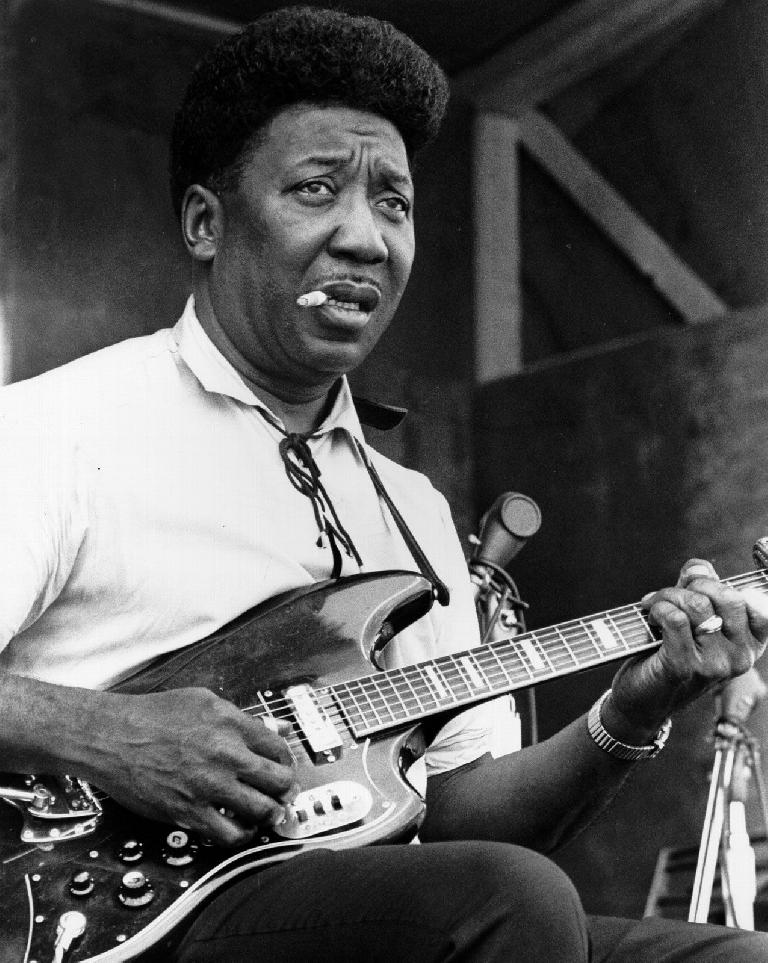 Muddy Waters – one of the all time blues greats