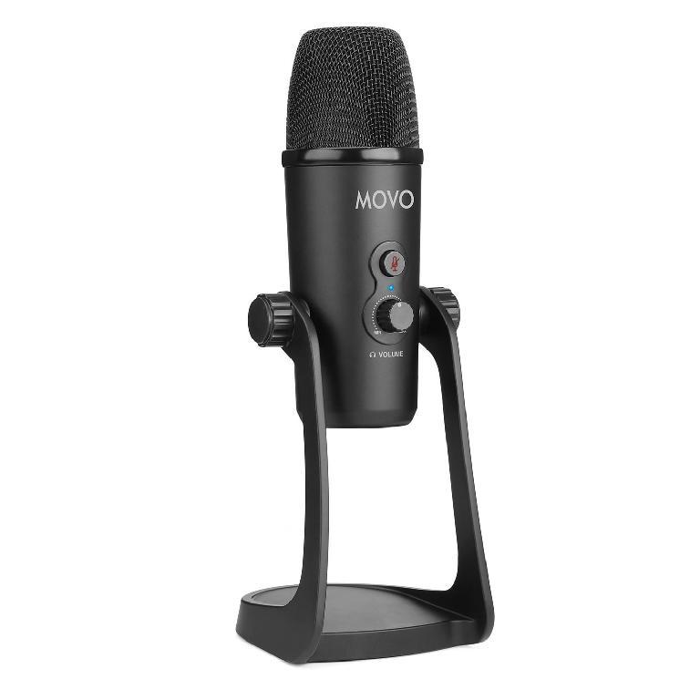 MOVO UM700 USB Desktop Studio Microphone