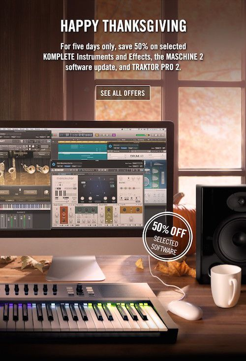 Native Instruments Black Friday offer.