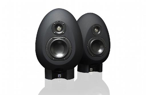 The new MunroSonic Egg100s come in black...