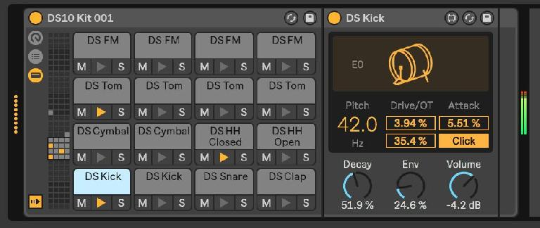 DS Kick, kickin' in a kit