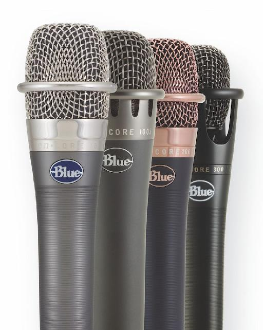 Blue Mics enCORE microphone line up.