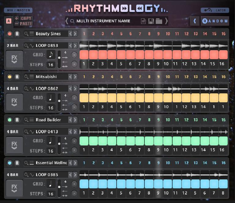 Rhythmology multicore view.