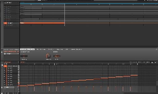 (Pic 5) The sample is sent to a group and a MIDI file is generated.
