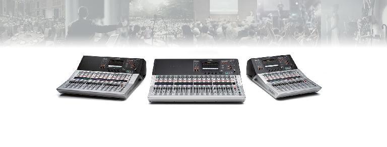 Yamaha TF digital mixers firmware update 3.5