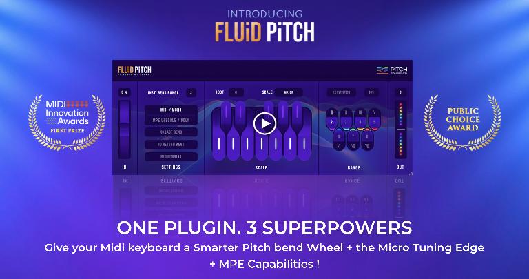 Fluid Pitch plugin