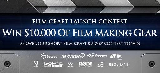 AskVideo macProVideo Film Craft Launch Contest prizes
