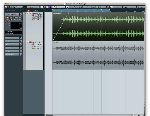 audio clip fades