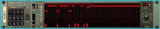 The matrix step sequencer