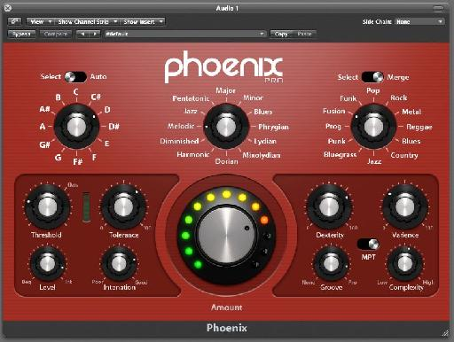 The beautiful Phoenix Pro plugin interface.