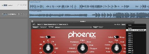 Phoenix Pro's sidechain in action.