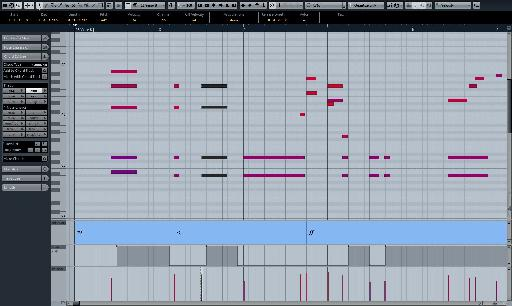 Cubase is perfectly good for scoring and passing these ideas onto a player to interpret.