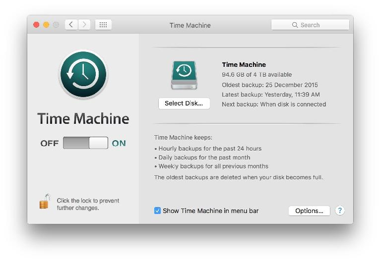Time Machine — a great feature that will save you from disaster