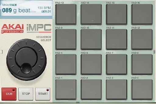 iMPC interface.