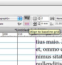 Align to baseline