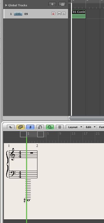 C#-2 note on the Piano Roll