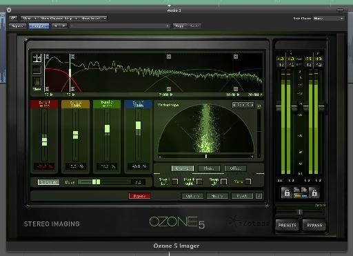 iZotope Ozone 5's stereo enhancer.