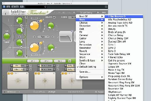 Using a short delay rather than a reverb on a rap vocal helps to keep things tight and punchy while adding depth