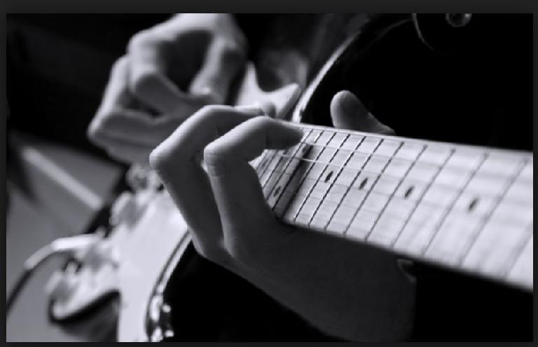 jam on instrument