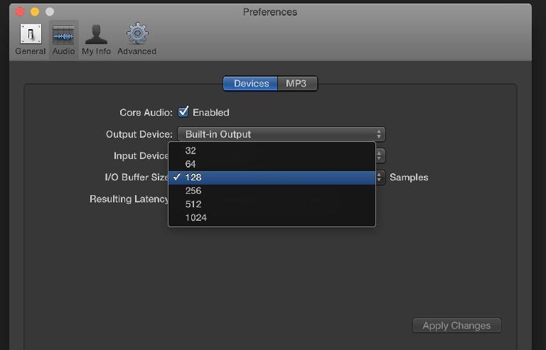 Logic Pro X Preferences