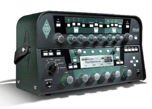 The Kemper Profiling Amplifier comes in both the '˜lunchbox' format as well as a rack-mountable unit.