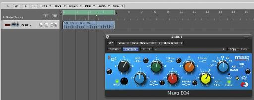 The new Maag EQ4 is a great hardware modeled EQ