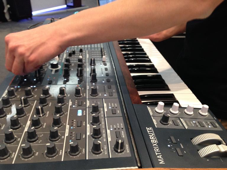 Lots to twiddle with: Arturia MatrixBrute