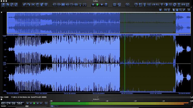 (Pic 1) A track with very little dynamic range!