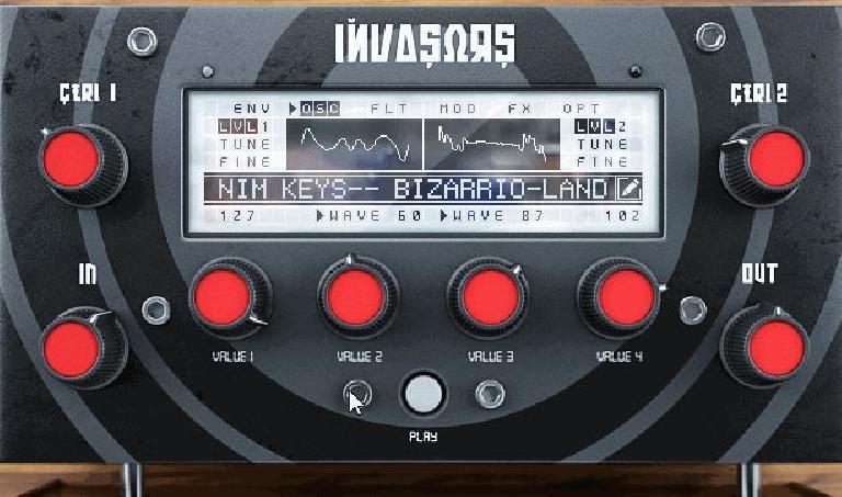128 waveforms