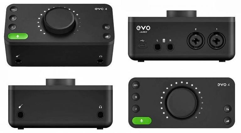 Audient EVO audio interface