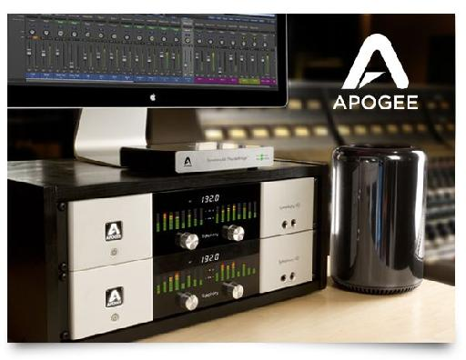Apogee Symphony I/O with Apple's new Mac Pro