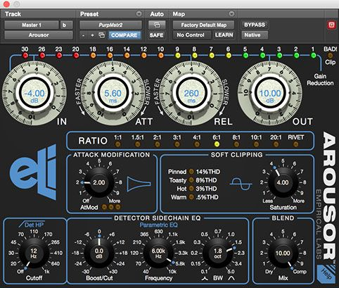 Empirical Labs Arouser GUI