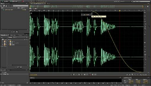 Audition Audio Editor