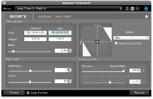 Sound Forge for Mac comes with excellent plug-ins by iZotope!