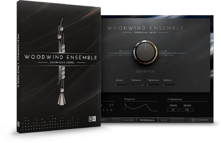 Native Instruments SYMPHONY SERIES Woodwind Ensemble.