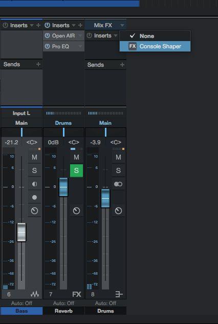 Add mix effects