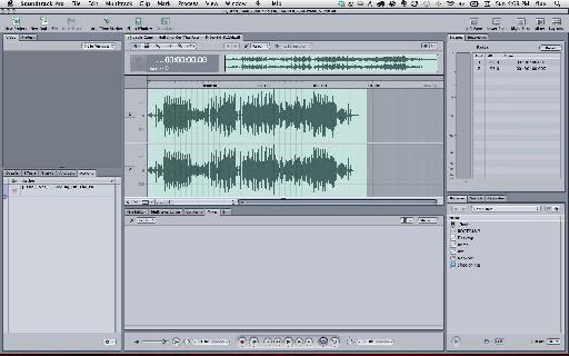 2-track audio editor