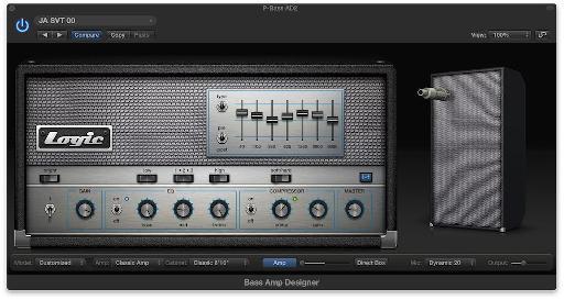 Bass Amp Designer.