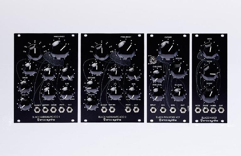 Erica Synths Black Classic System modules