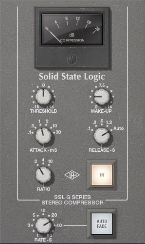 UAD's Version of the SSL Classic.