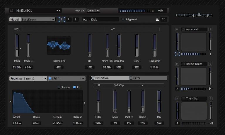Audiospillage - Minispillage