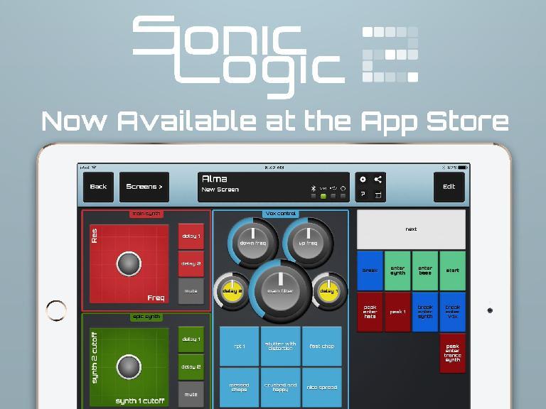 Sonic Logic 2 for iPad.